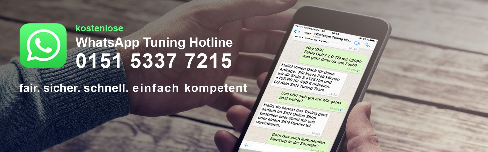 WhatsApp Tuning Hotline